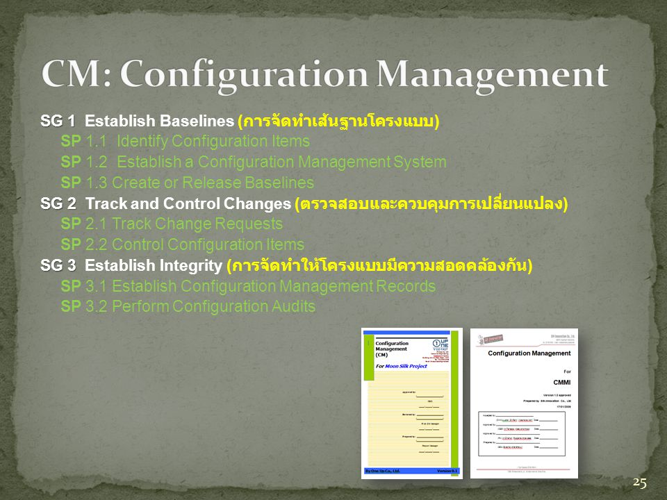 CM: Configuration Management