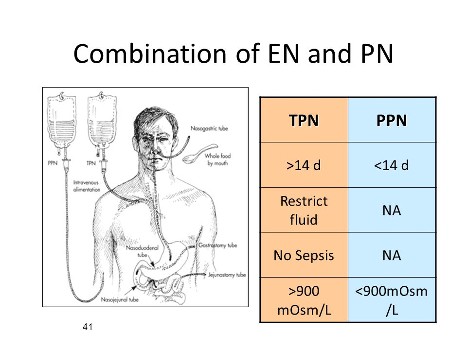 Combination of EN and PN