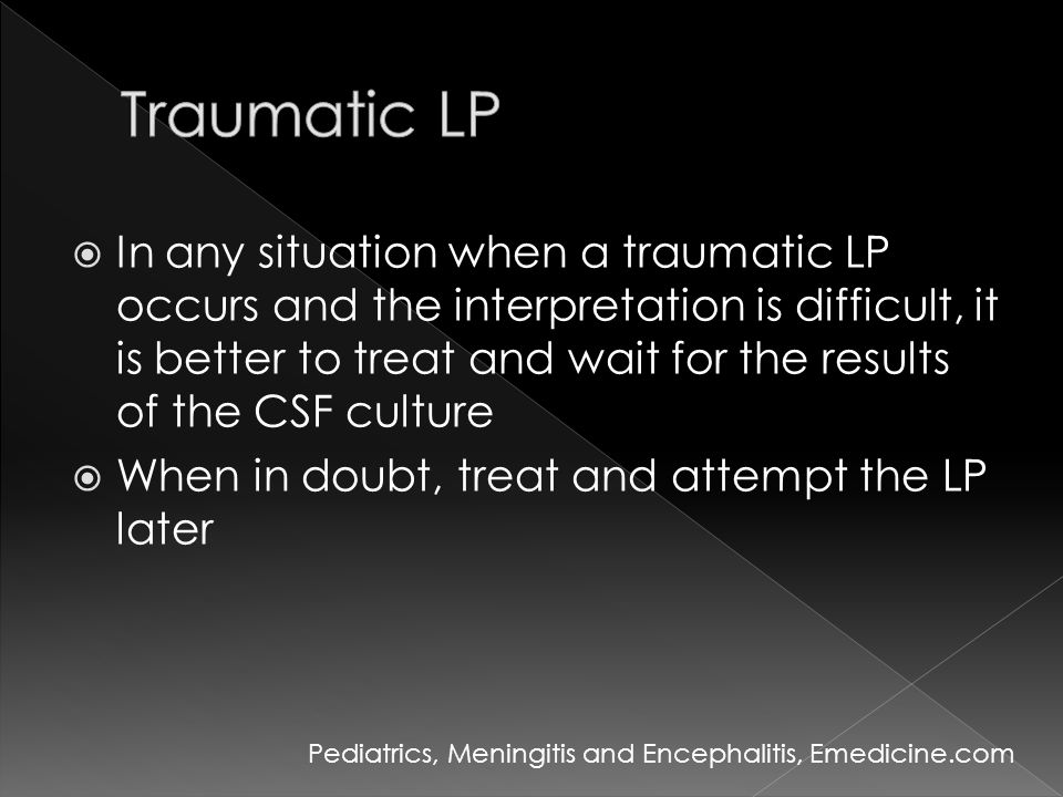 Traumatic LP
