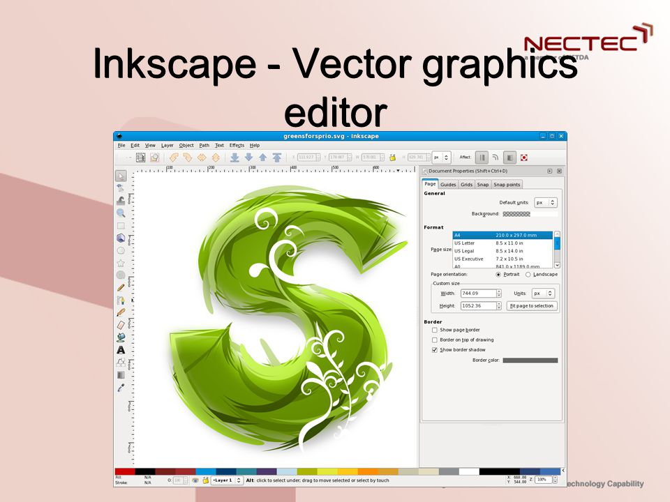 Inkscape - Vector graphics editor