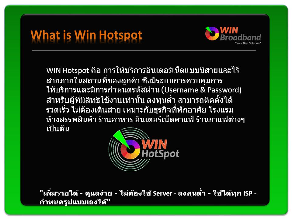 What is Win Hotspot