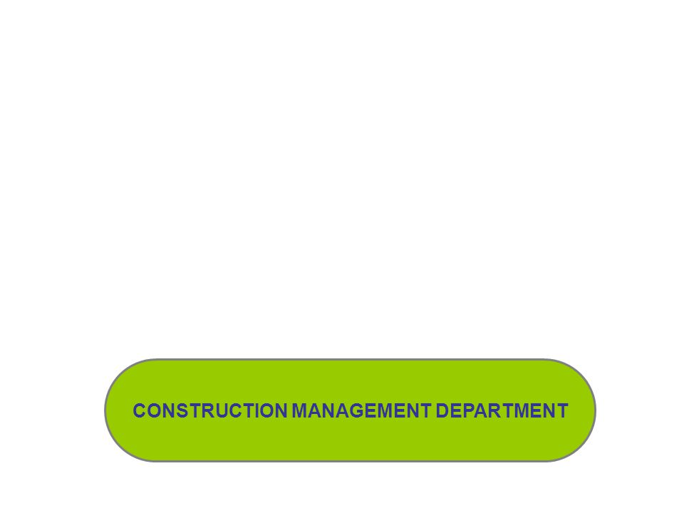 CONSTRUCTION MANAGEMENT DEPARTMENT