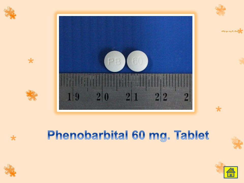 Phenobarbital 60 mg. Tablet