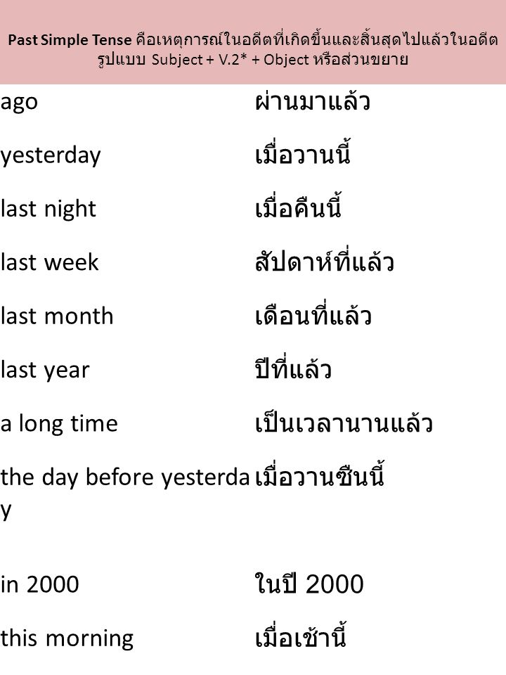 the day before yesterday เมื่อวานซืนนี้