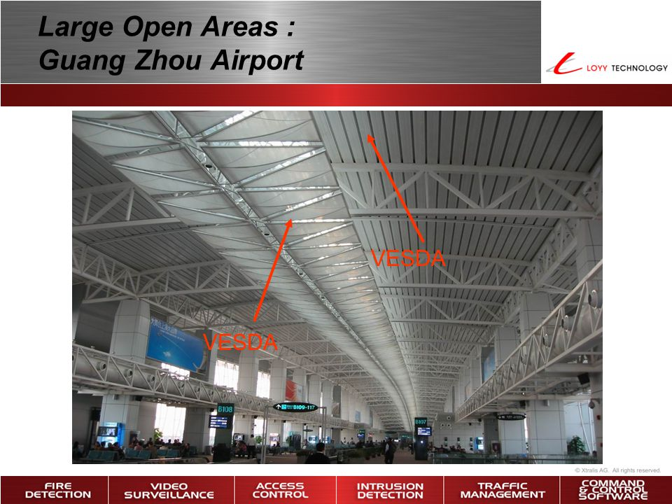 Large Open Areas : Guang Zhou Airport