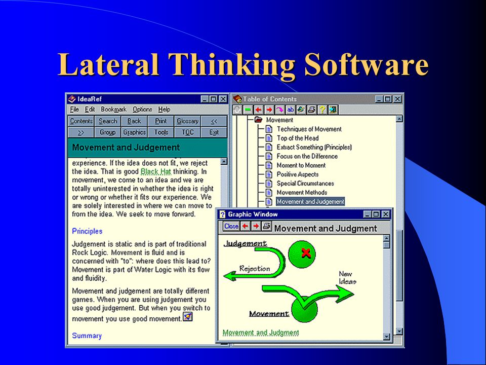 Lateral Thinking Software