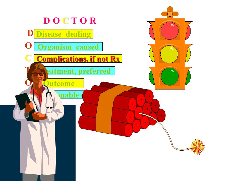Complications, if not Rx