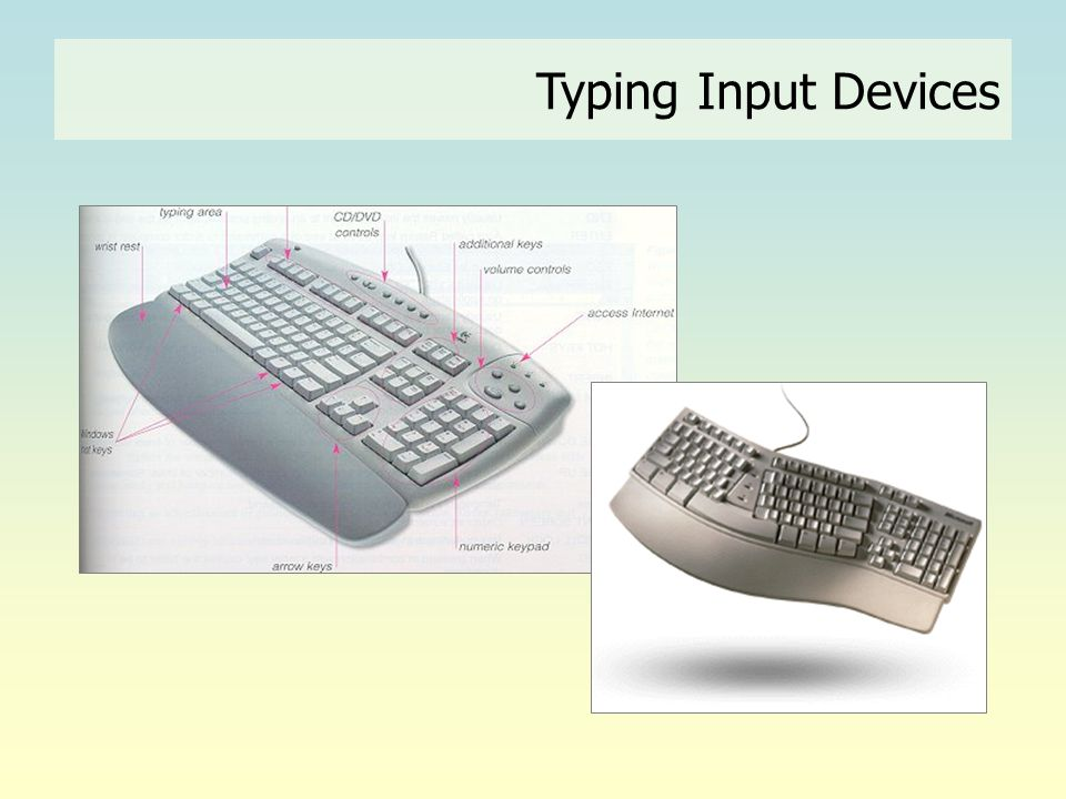 Typing Input Devices