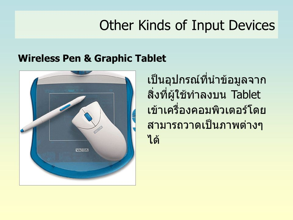 Wireless Pen & Graphic Tablet