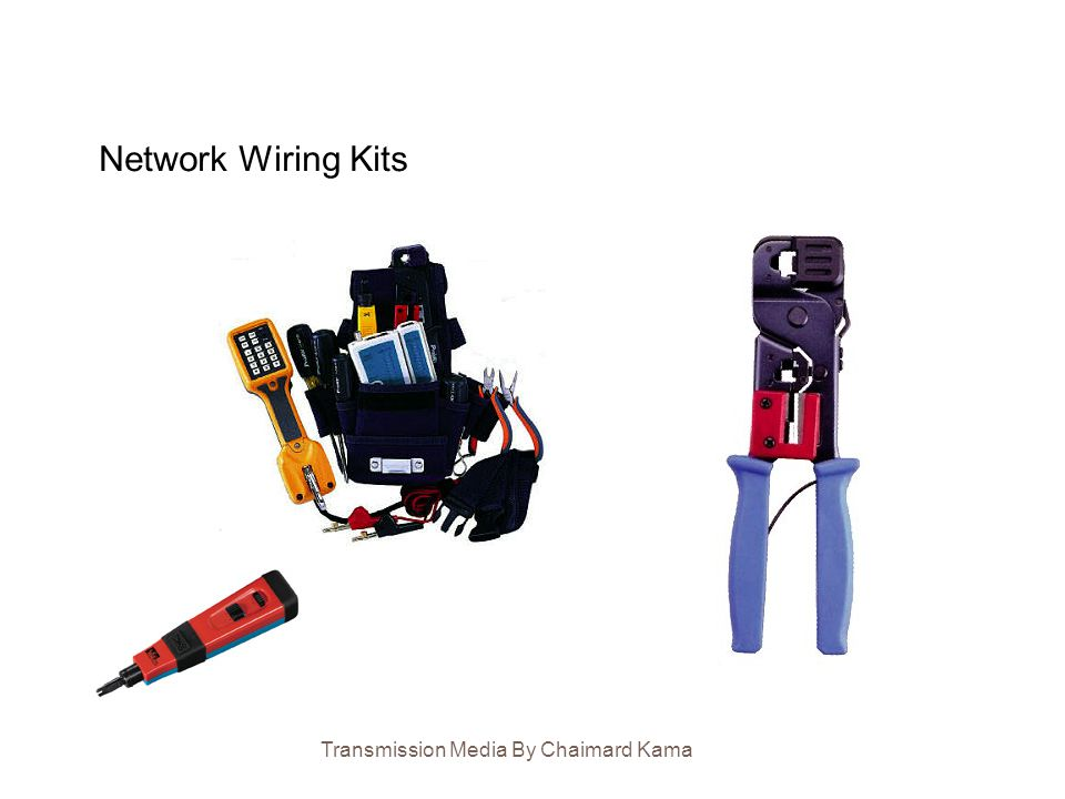Network Wiring Kits Transmission Media By Chaimard Kama