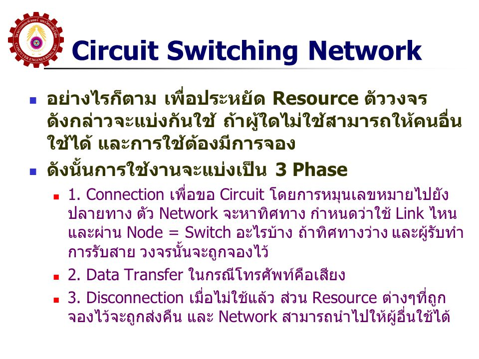 Circuit Switching Network