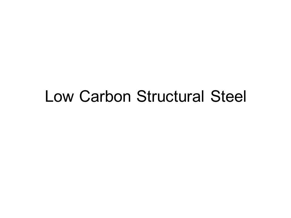 Low Carbon Structural Steel
