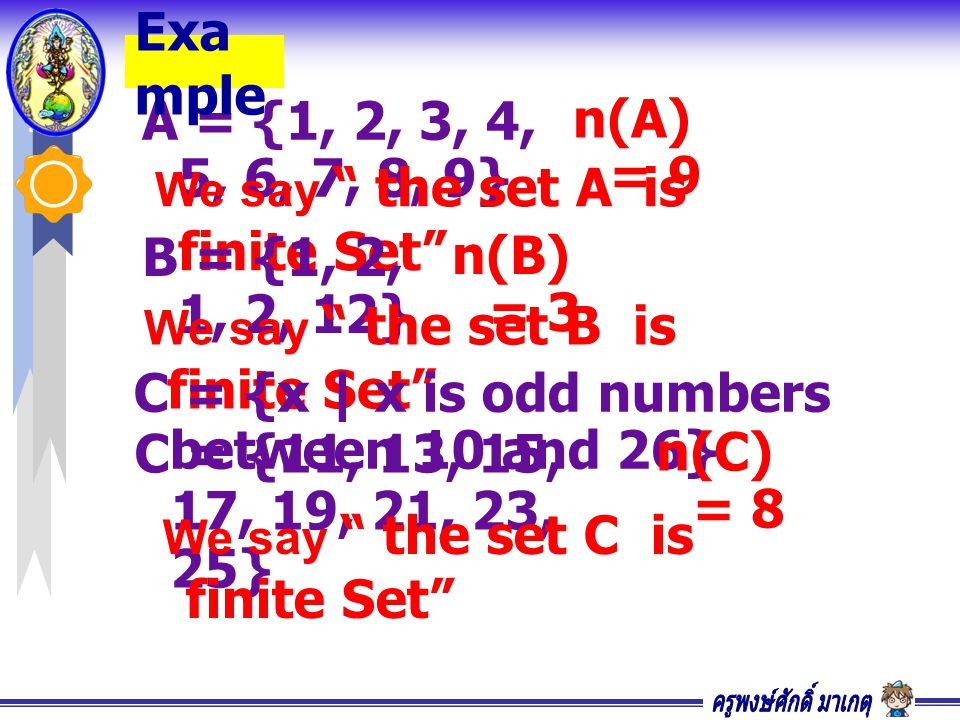 C = {x | x is odd numbers between 10 and 26}