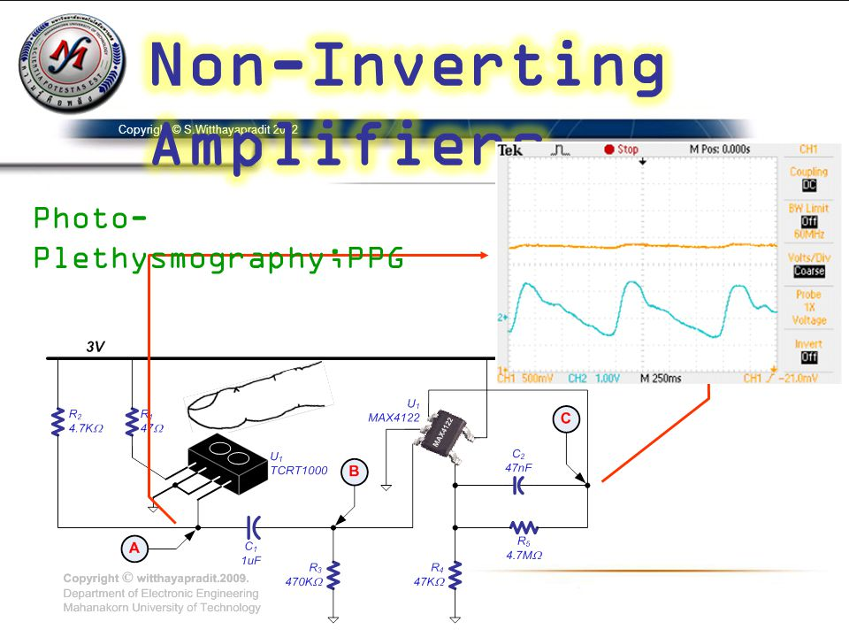 Non-Inverting Amplifiers