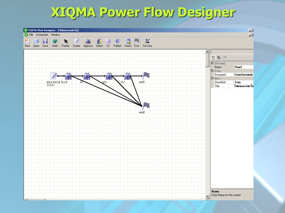 XIQMA Power Flow Designer