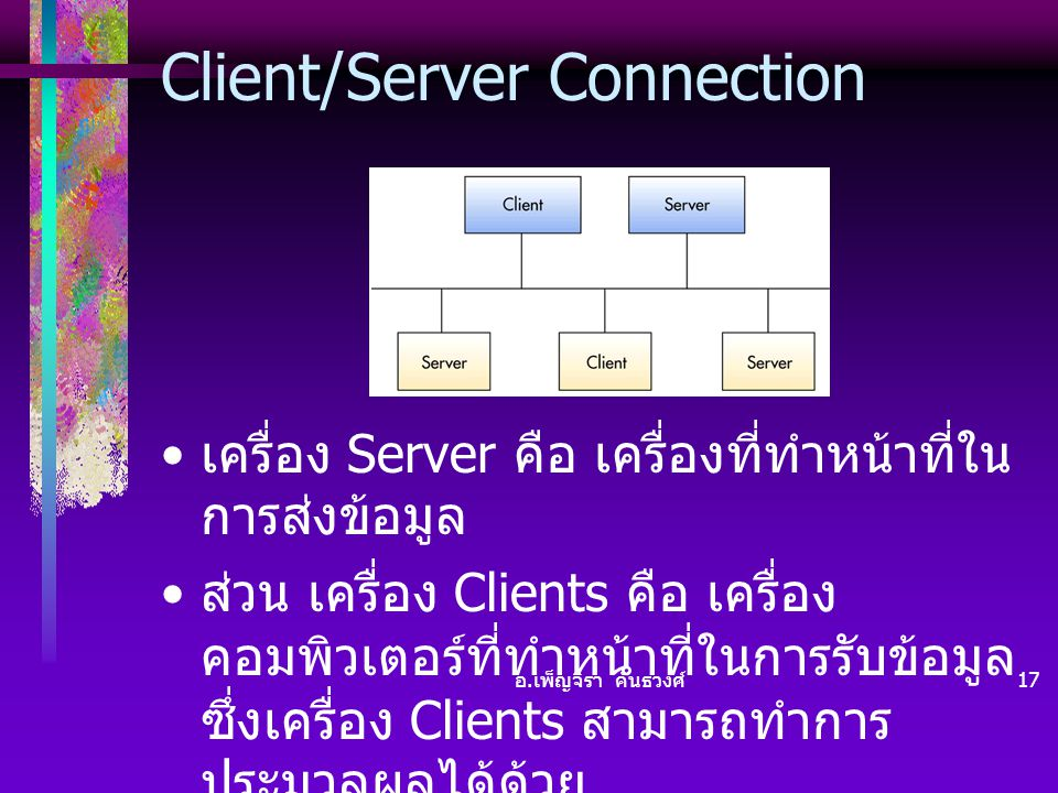Client/Server Connection