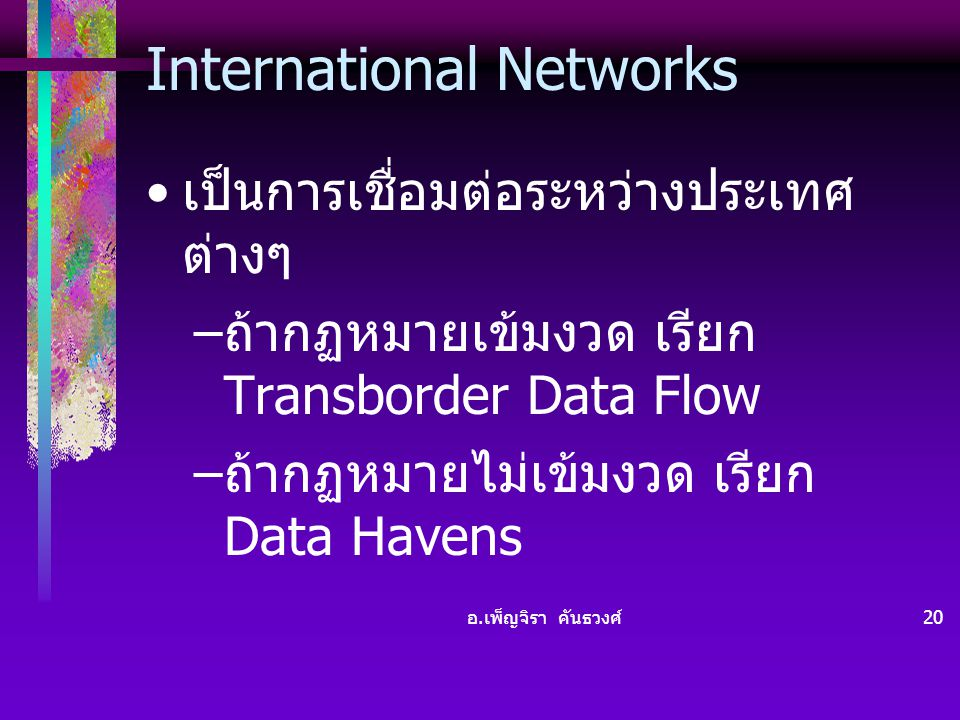 International Networks