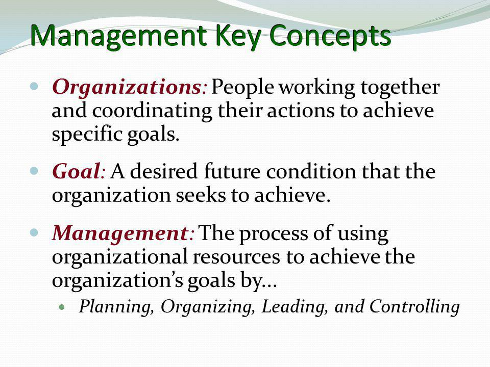 Management Key Concepts