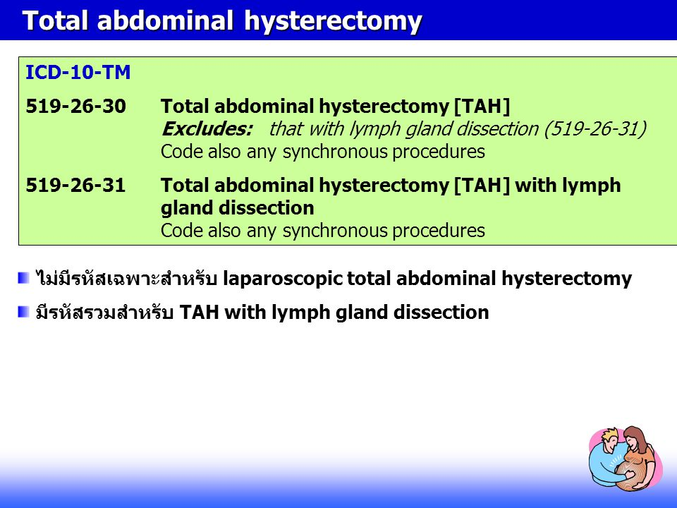 Total abdominal hysterectomy