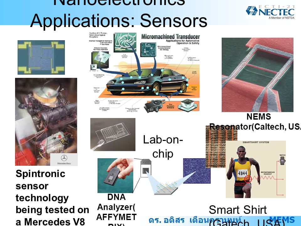 Nanoelectronics Applications: Sensors