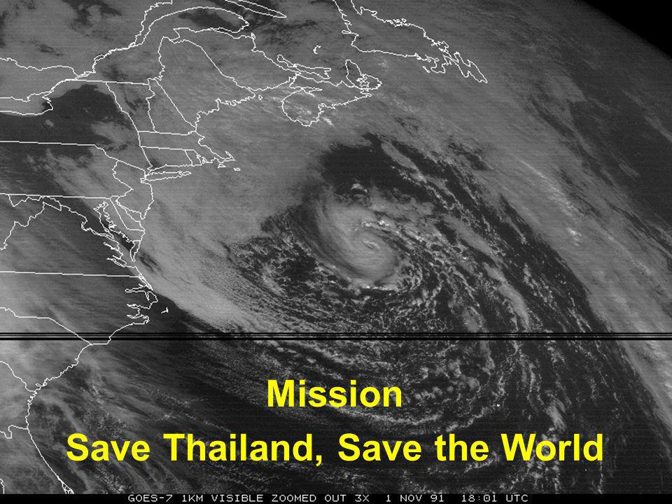 Save Thailand, Save the World
