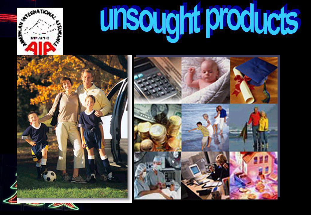 unsought products