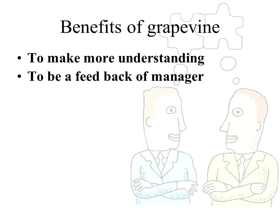 Benefits of grapevine To make more understanding