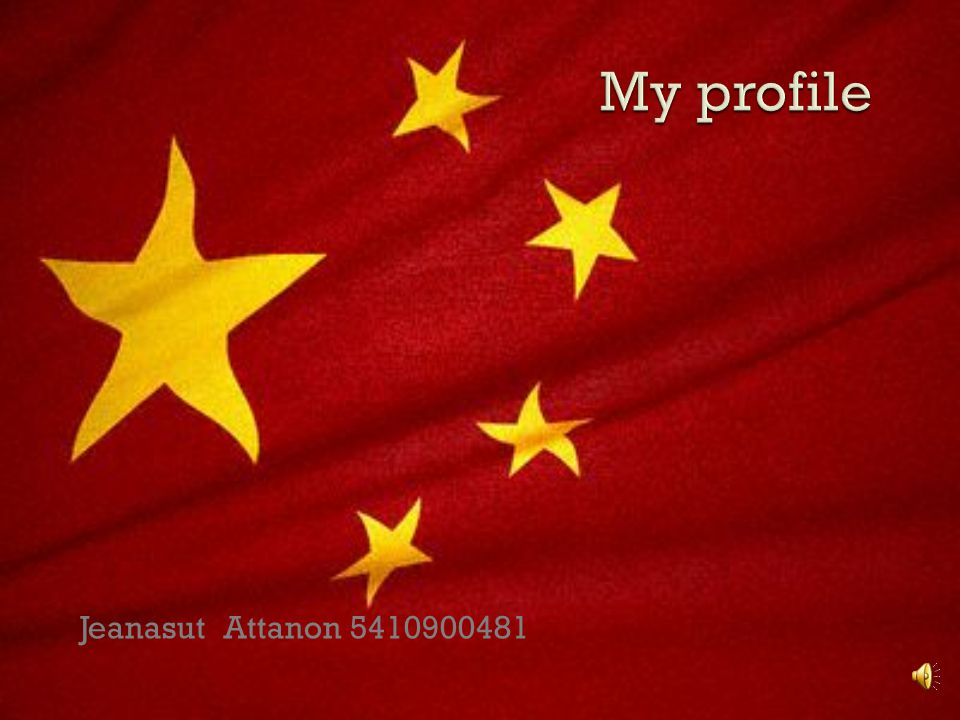 My profile Jeanasut Attanon