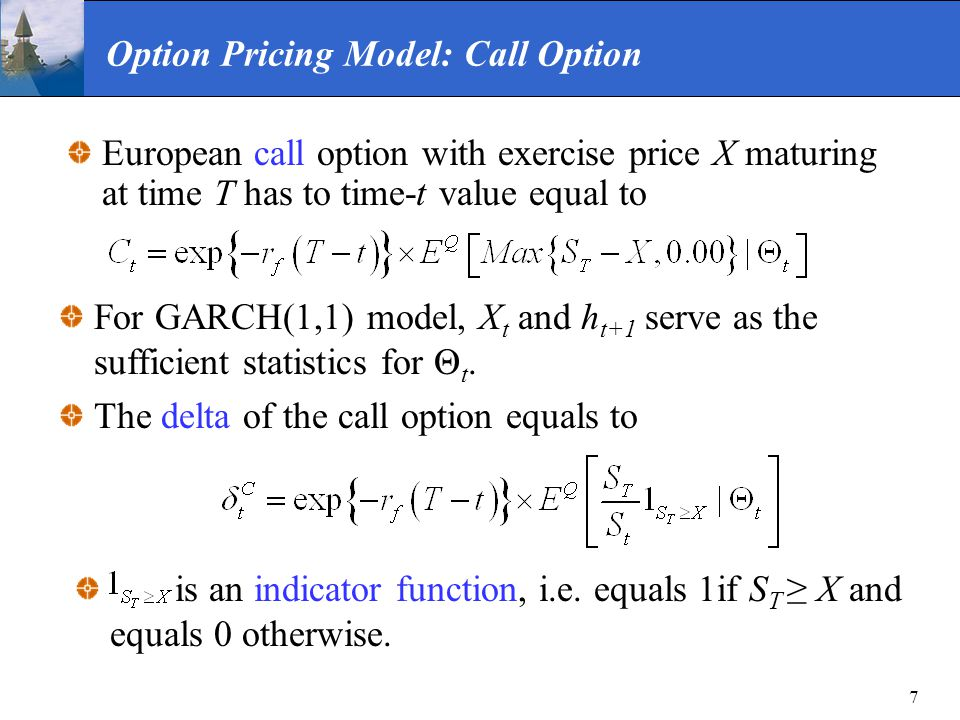 Option Pricing Model: Call Option