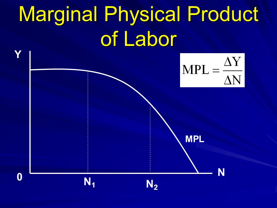 Marginal Physical Product of Labor