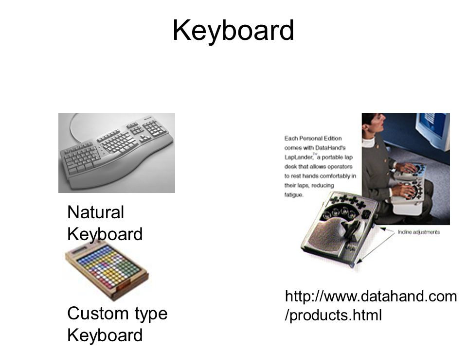 Keyboard Natural Keyboard Custom type Keyboard