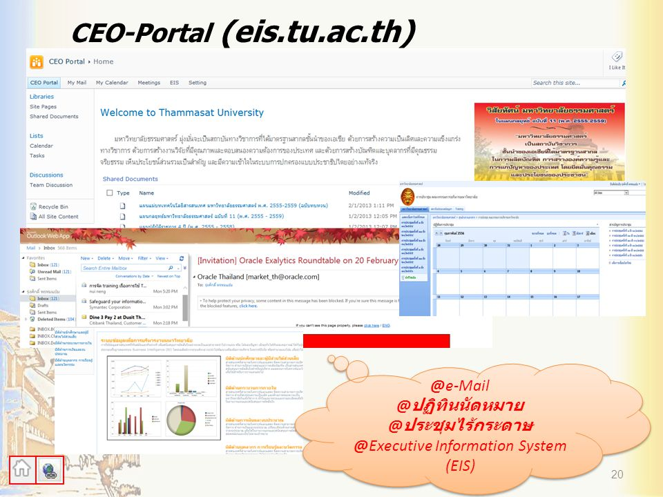 @Executive Information System (EIS)