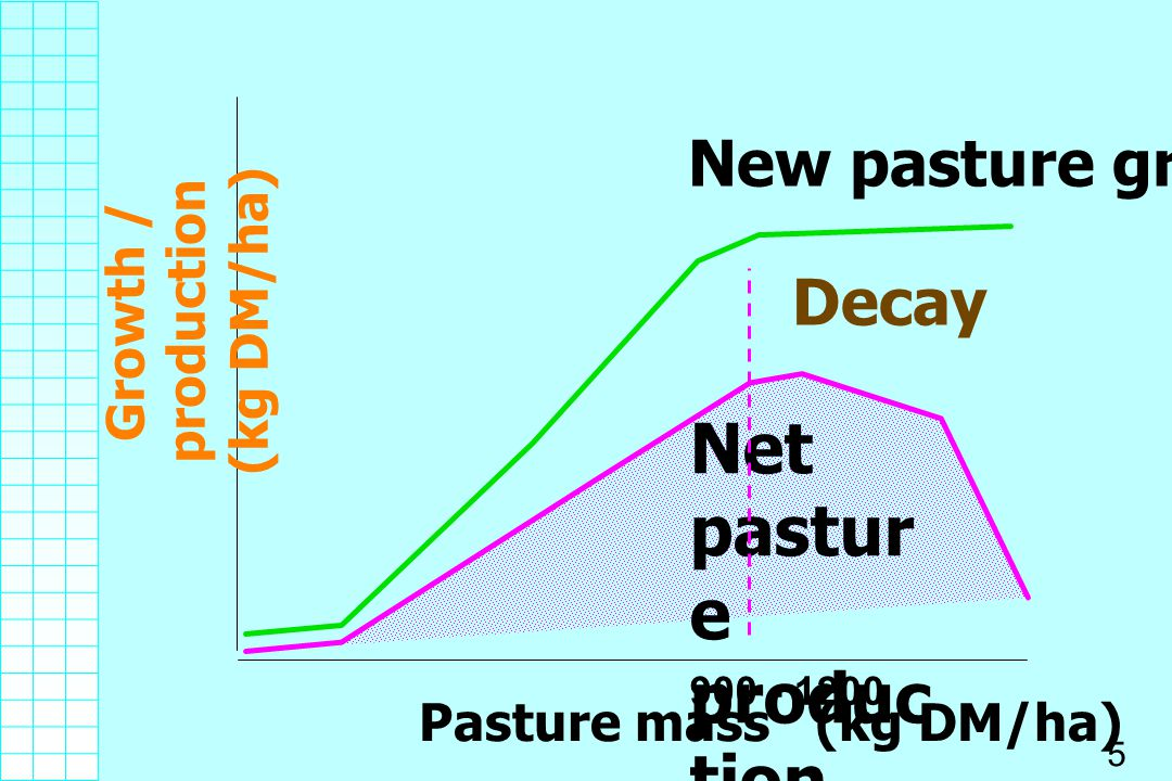 Net pasture production