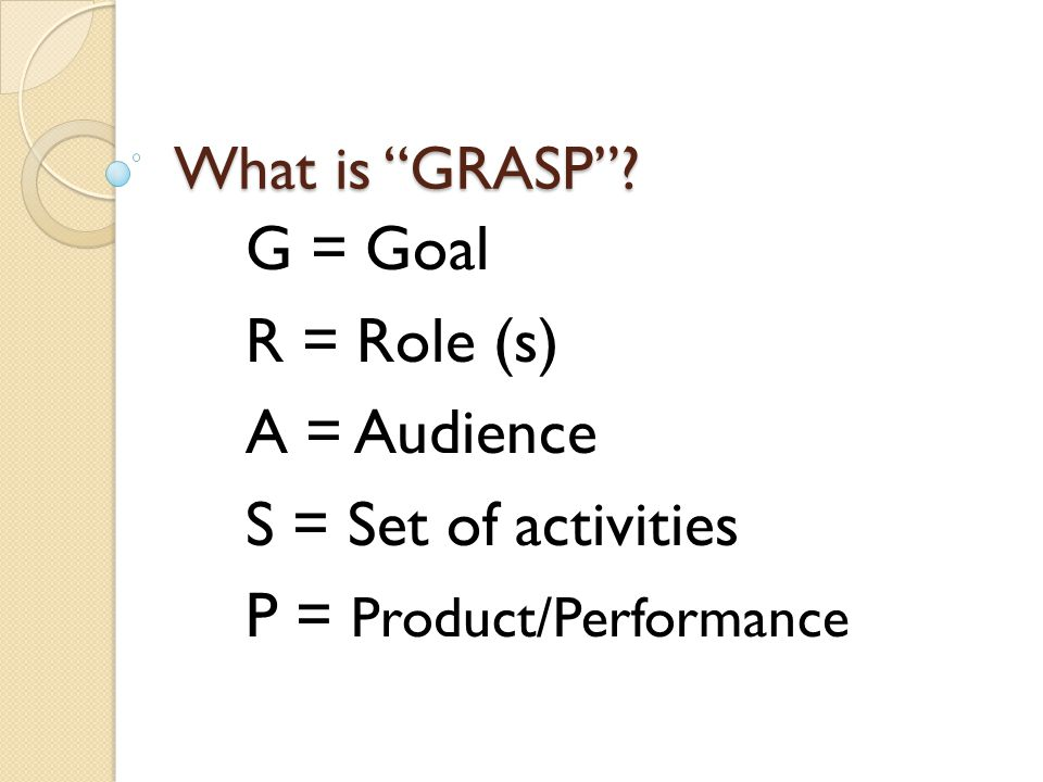 P = Product/Performance