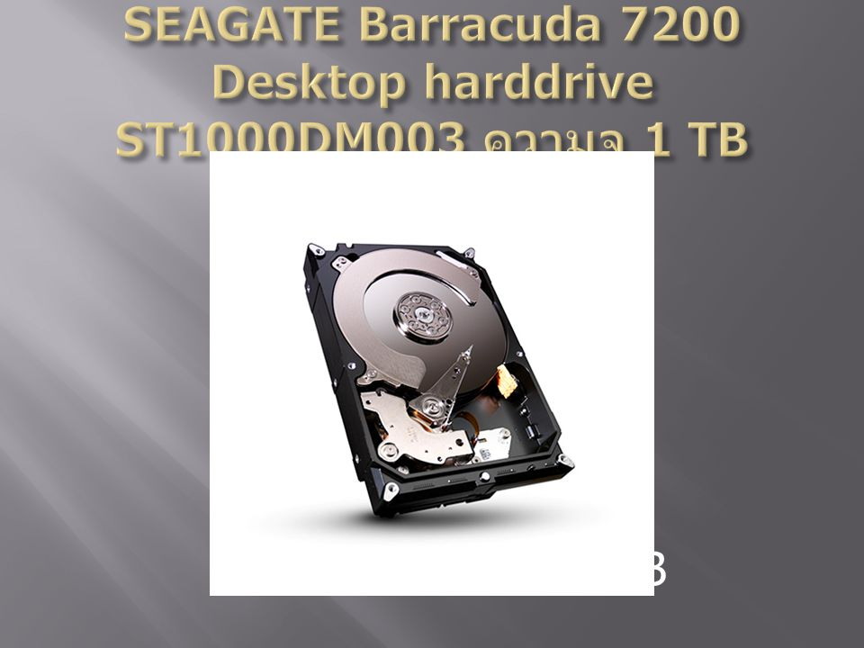 SEAGATE Barracuda 7200 Desktop harddrive ST1000DM003 ความจุ 1 TB