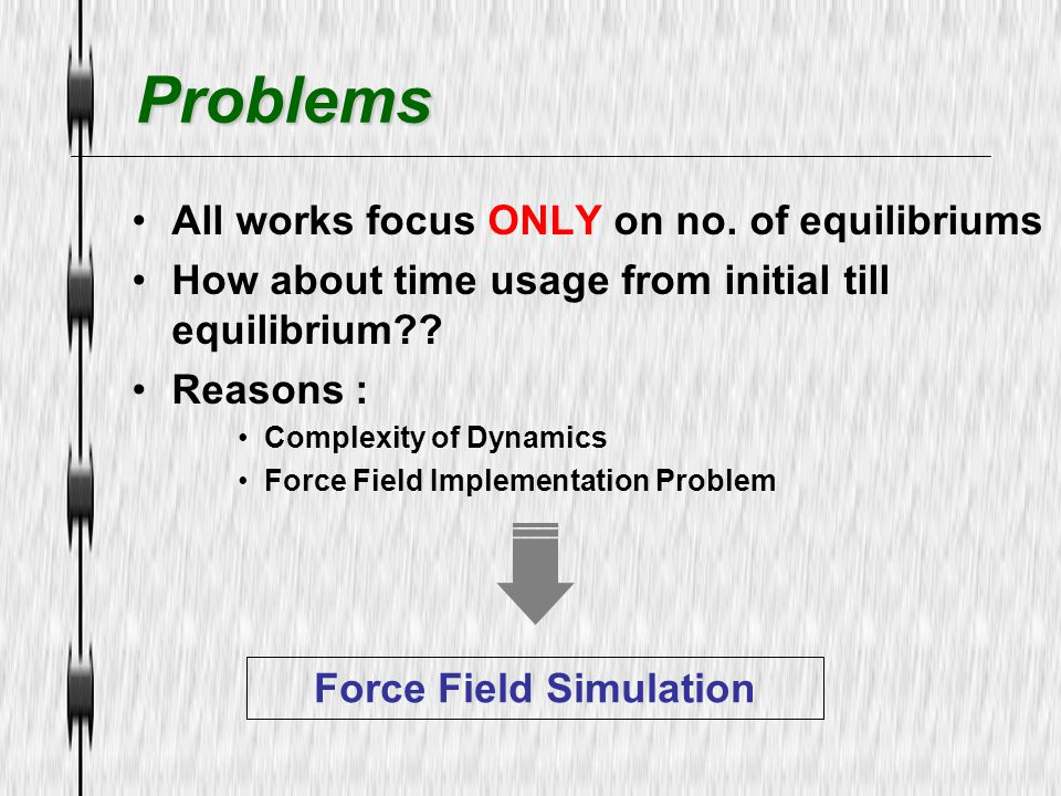 Force Field Simulation