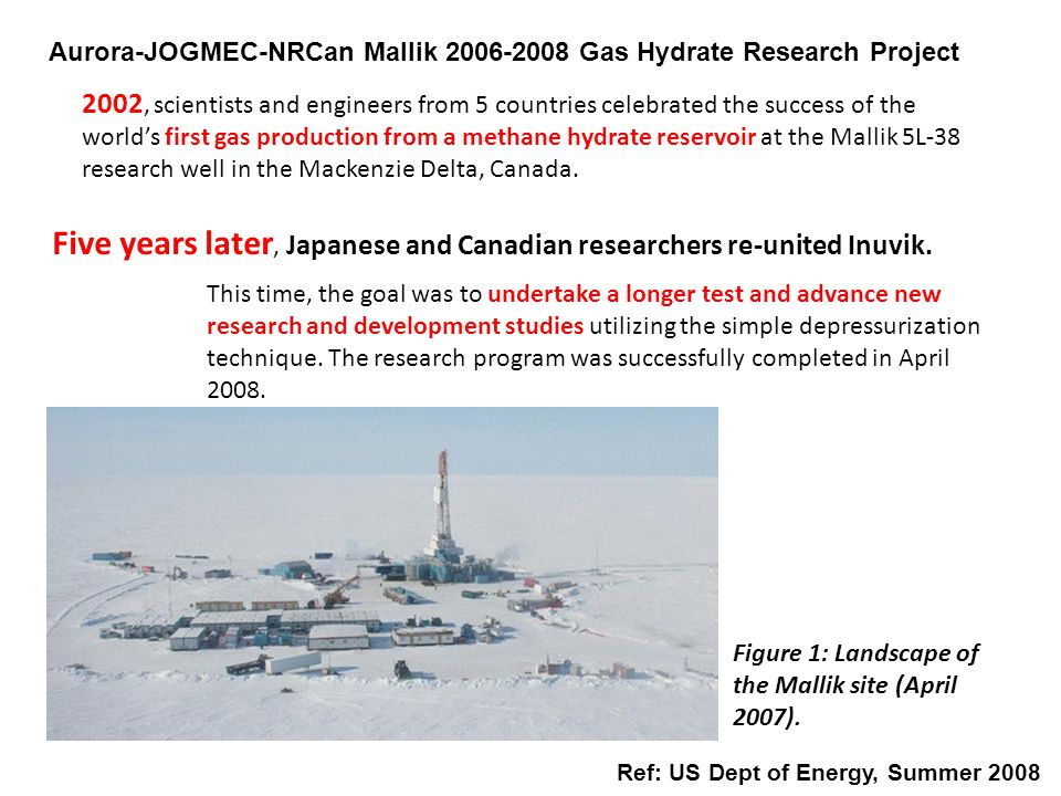 Five years later, Japanese and Canadian researchers re-united Inuvik.