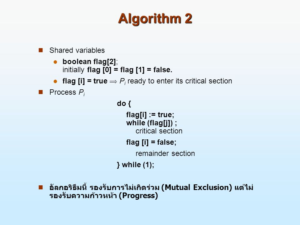 Algorithm 2 Shared variables