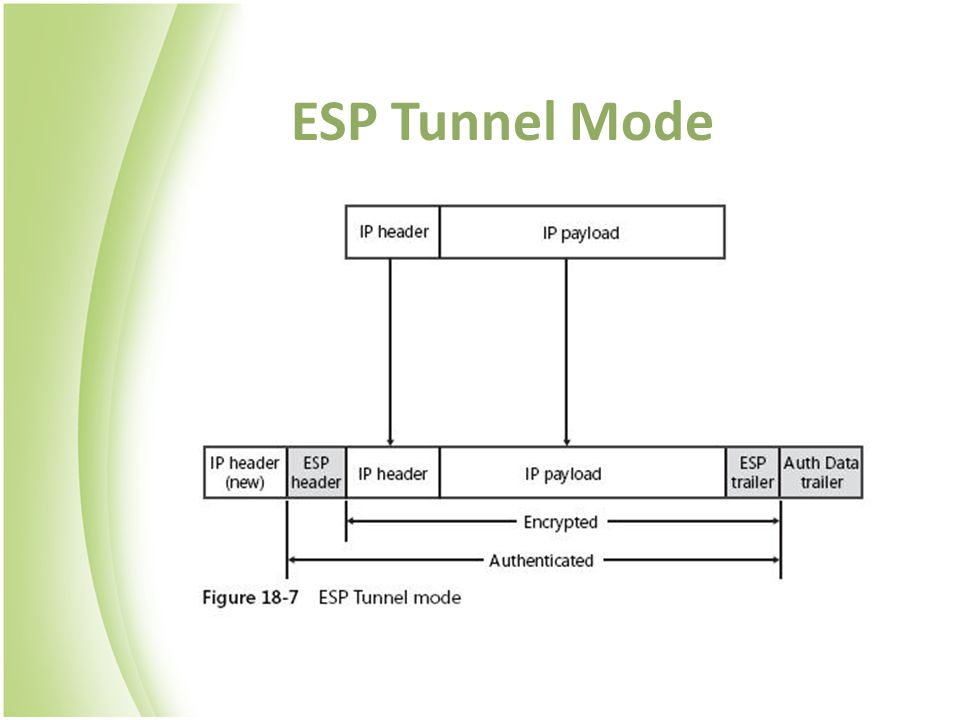 ESP Tunnel Mode