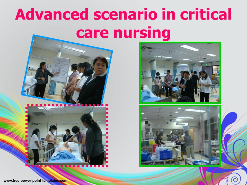 Advanced scenario in critical care nursing