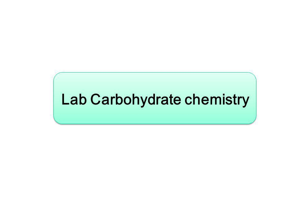 Lab Carbohydrate chemistry