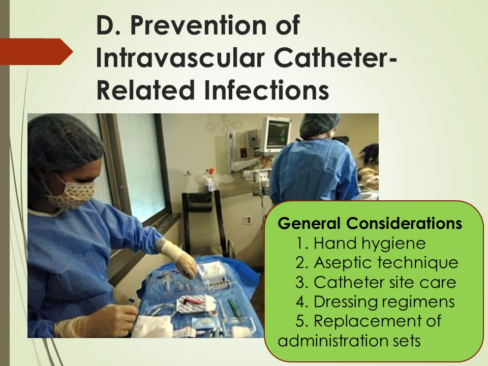 D. Prevention of Intravascular Catheter-Related Infections