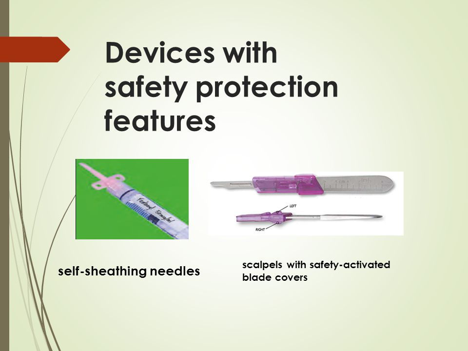 Devices with safety protection features