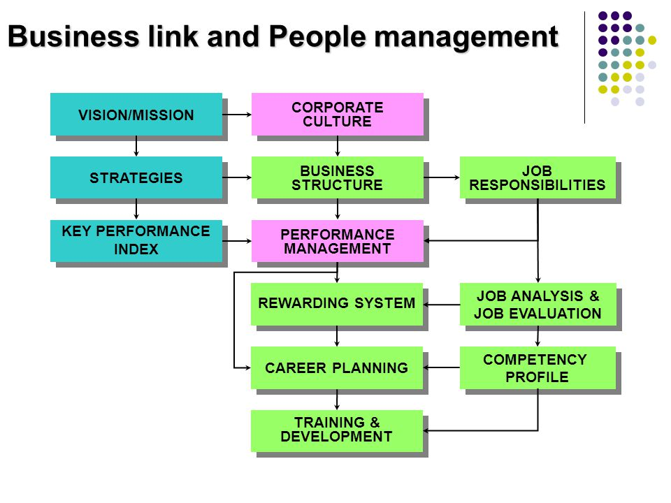 Business link and People management