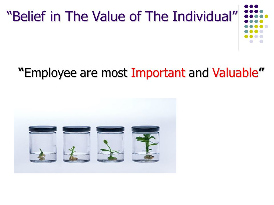 Employee are most Important and Valuable