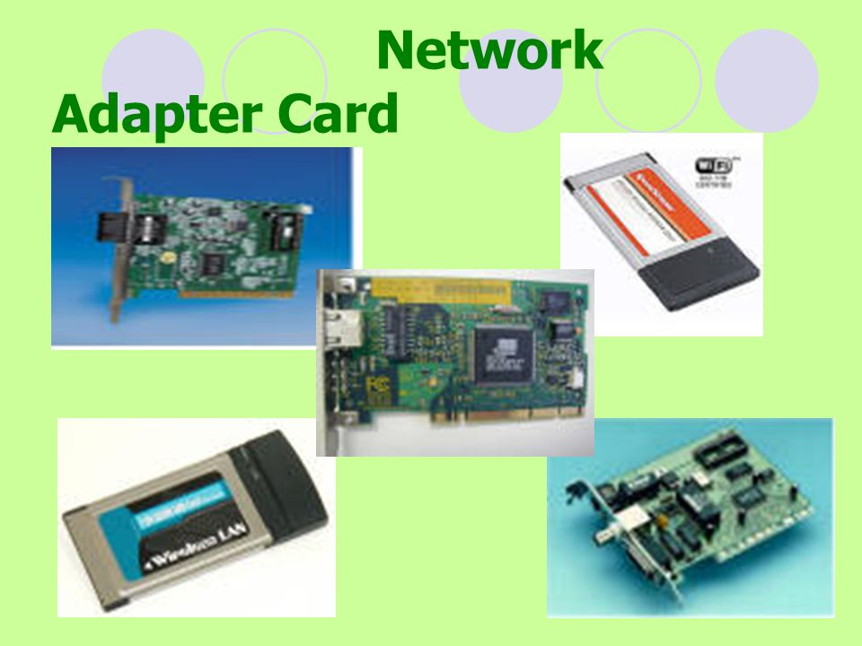 Network Adapter Card