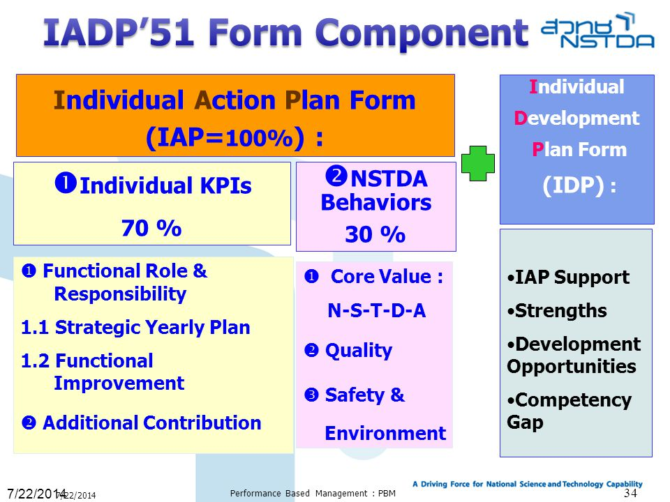 Individual Action Plan Form