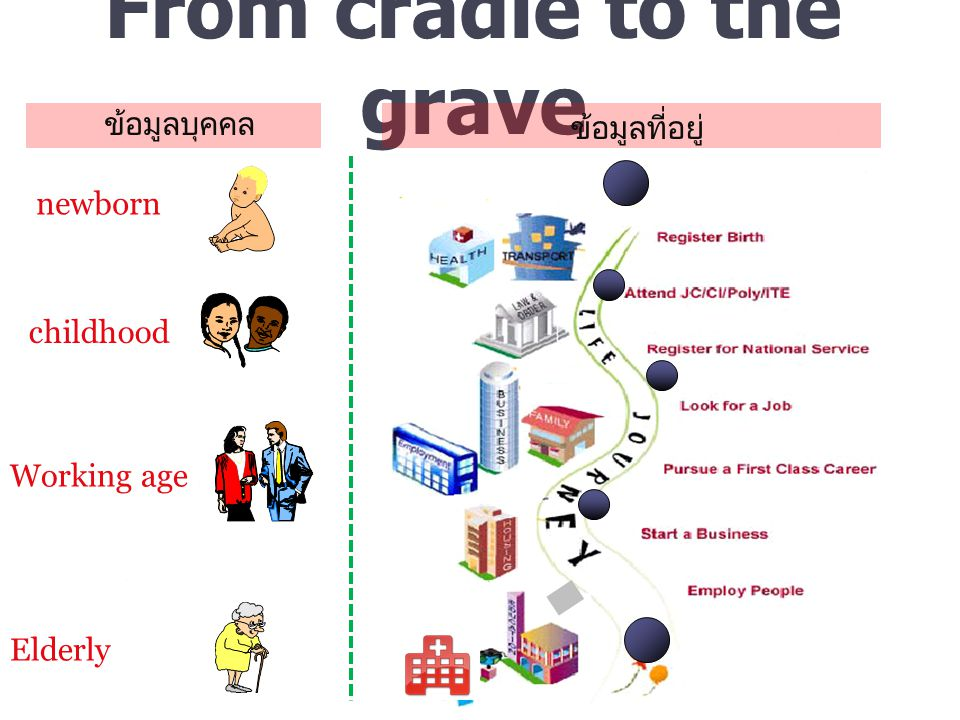 From cradle to the grave