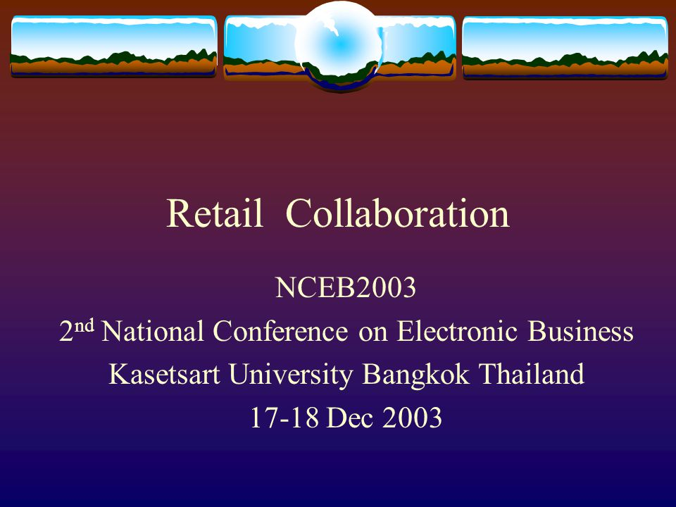 Retail Collaboration NCEB2003