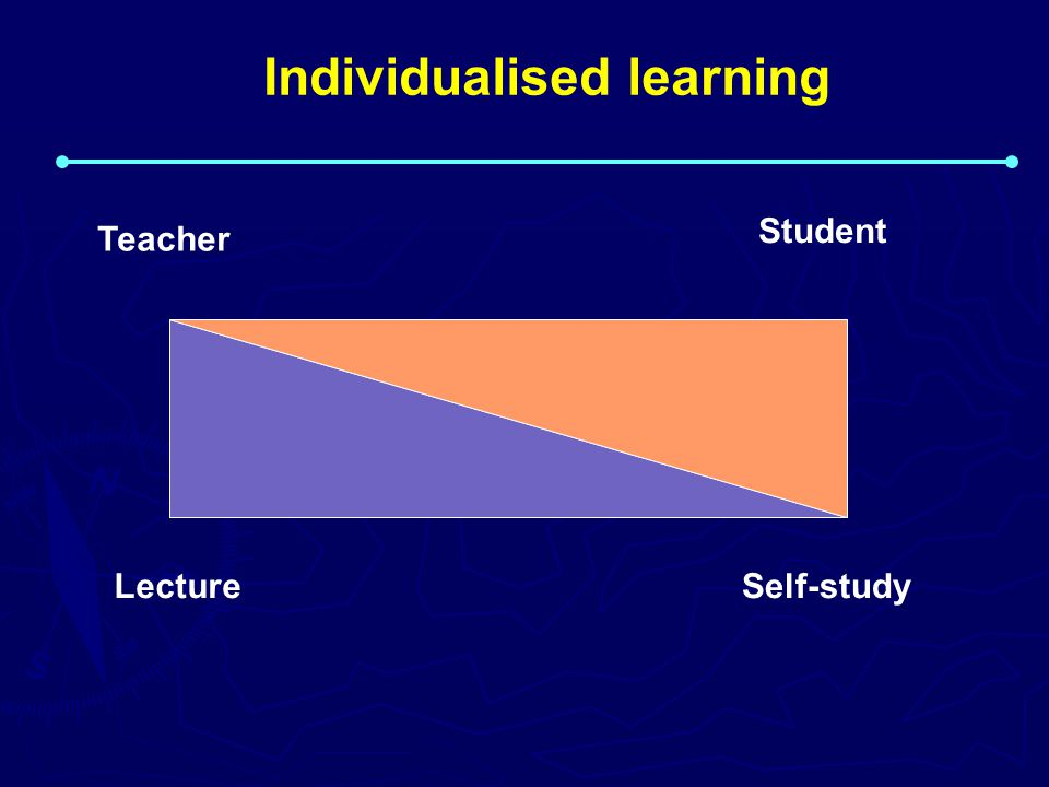 Individualised learning